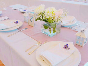 Eight Beautiful Wedding Table Runners