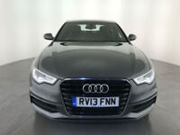 2013 AUDI A6 S LINE TDI DIESEL AUTOMATIC 175 BHP SERVICE HISTORY FINANCE PX