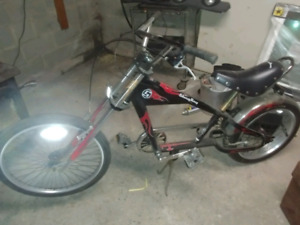 Stingray chopper style bike