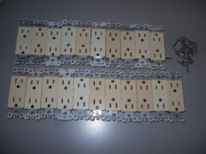 light switches + electrical outlets