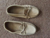 Brand new good quality moccasins size 10