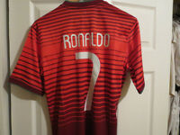 New #7 Ronaldo Nike Jersey with tags - L - XL - Stitched
