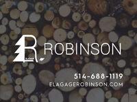 Élagage - Abattage d'arbre - Arboriculteur - ÉLAGAGE ROBINSON
