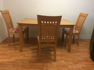 BBQ, dining  tables and Chairs
