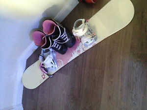 K2 Board, Bindings, Boots and goggles