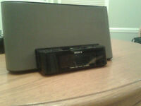 Sony iPod/iPhone Dock with Dual Alarm and AM/FM Radio