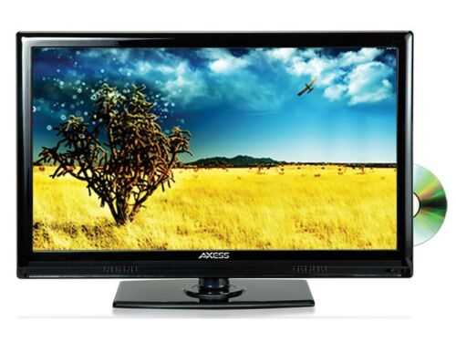 "Axess TVD1801-13 13.3"" LED HDTV +AC/DC TV +Built-in DVD Play"