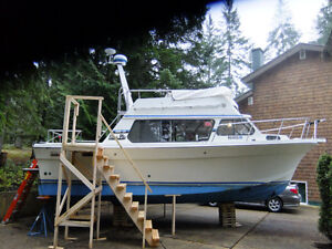 28ft long cabin, Bow Thruster     $25,200 ,