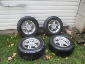"""Full set 15"""" Winter tires and Alloy Rims"""