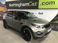 2017 17 LAND ROVER DISCOVERY SPORT 2.0 TD4 HSE BLACK 5D AUTO 180 BHP DIESEL