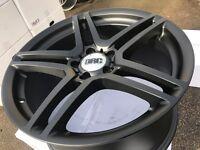 "18"" alloy wheels Alloys Rims tyre tyres 5x112 Audi Seat Skoda vw Volkswagen Mercedes Vito vaneo"