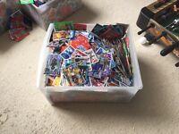 Massive box of match attax cards