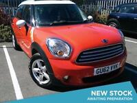 2012 MINI COUNTRYMAN 1.6 Cooper Parksensors Bluetooth 1 Owner