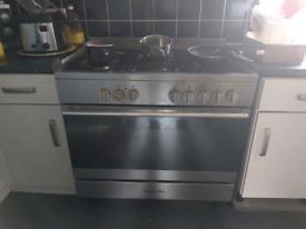 Electrolux range dual fuel oven