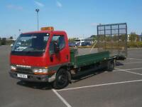 1999 T MITSUBISHI CANTER 4.0 RECOVERY TRUCK PLANT LORRY 7500 KG BEAVERTAIL