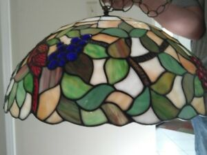 Classical Tiffany hanging lamp (chandelier)