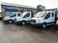2015 Ford Transit 2.2TDCi ( 125PS ) 350 L3H1 One Stop New Shape Tipper