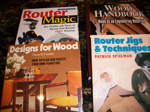 Wood Working and Building Books