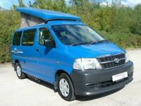 Toyota Hi ace 2 berth pop top campervan for sale