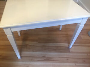 Two wood end tables !!