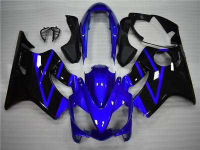 2004 Honda Cbr F4i (Fairing Blue Black Injection Plastic Fit for Honda 2004-2007 CBR 600 F4i)