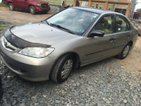 2005 HONDA CIVIC SPECIAL EDITION SHOWROOM COND.3650$