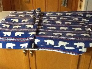 Sears polar bear twin duvet and pillow civer