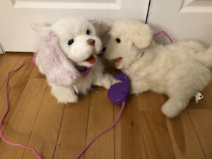 2 Battery Operated Dogs
