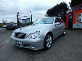 2006 Mercedes Benz C Class C180K Avantgarde SE 4dr Auto 1 former keeper,Full ...