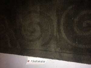 Charcoal Area Rug Mint Condition