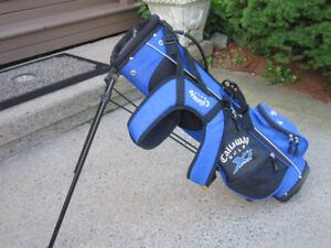 Junior Callaway Golf Stand Bag with Dual Carrying Strap