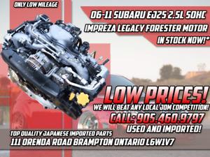JDM 06-11 Subaru EJ25 2.5L SOHC Engine Impreza Legacy Forester