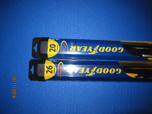 2 Wiper Blades 26 and 20 inch - fit a Dodge Grand Caravan London Ontario image 2