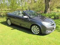 Vauxhall/Opel Astra 1.9CDTi 16v (150ps) Diesel Twin Top Design Convertible GREY