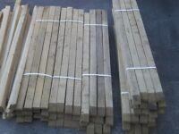 deck spindles pressure treated
