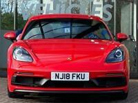 2018 Porsche Cayman CAYMAN GTS Coupe Petrol Manual