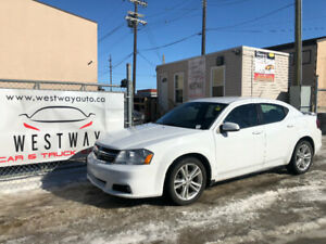 2013 DODGE AVENGER SXT HEATED SEATS ALLOY WHEELS !