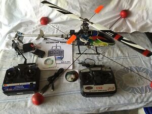 Rc helicopter trex 450 avec simulator