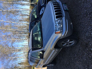 2002 Jeep Grand Cherokee Fully loaded SUV, Crossover
