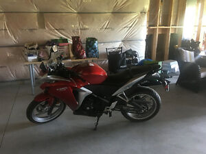 2012 Honda CBR250R ABS like new low kms
