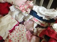Huge bundle of clothes baby girl 0-12 months