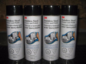 Stainless Steel Cleaner and Polish, 21 oz Aerosol