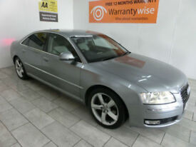 2009,Audi A8 3.0TDI auto quattro Sport***BUY FOR ONLY £72 PER WEEK***