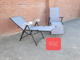 New sun Loungers camping garden patio chairs beds
