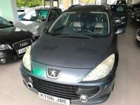 2006 Peugeot 307 SW-7-Seats 1.6HDi -1-F Keeper - 2 Keys - Full Leather-MOT 09/18
