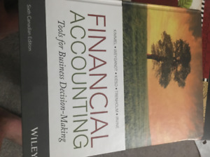 Textbook ( Financial Accounting )