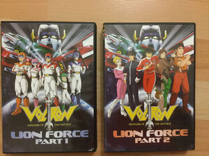 Voltron: Defender of the Universe - complete DVD series