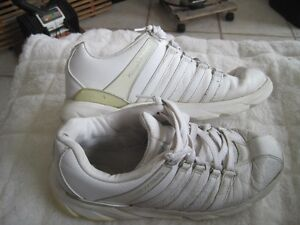 KSwiss Limited Edition Leather Court Shoes - Size 10