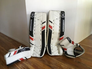 Gardien de but / Goalie ste Warrior Ritual G3 30'+1 ( left )