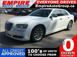2013 CHRYSLER 300C * LEATHER * SUNROOF * REAR CAM * NAV * BLUETO